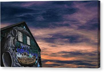 Art Dream Wall Aarhus Denmark Canvas Print by Mikkel Schmidt