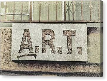 A.r.t Canvas Print