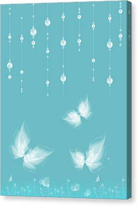 Art En Blanc - S11a Canvas Print by Variance Collections