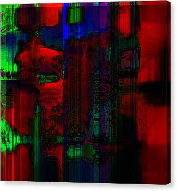 Art Exchange Canvas Print by Fania Simon