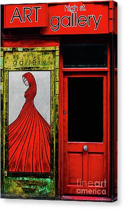 Art Gallery Shop Front Canvas Print