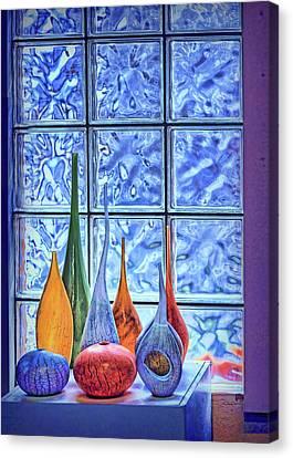 Art Glass Still Life Canvas Print