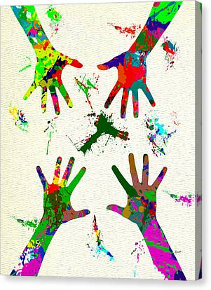 Art Is Fun Canvas Print by Anthony Caruso