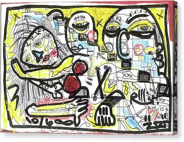 Art Is My Bliss Canvas Print