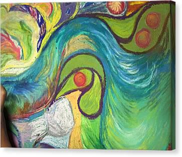 Art Journaling Canvas Print