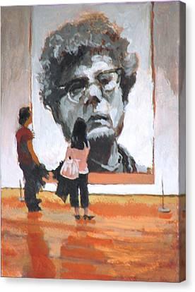 Art Lovers Canvas Print by Robert Bissett