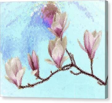 Art Magnolia Canvas Print