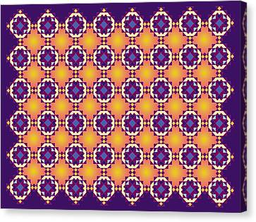 Art Matrix 001 A Canvas Print