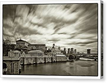 Art Museum Time Exposer Canvas Print by Jack Paolini