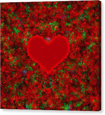 Art Of The Heart 2 Canvas Print