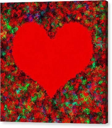 Art Of The Heart Canvas Print