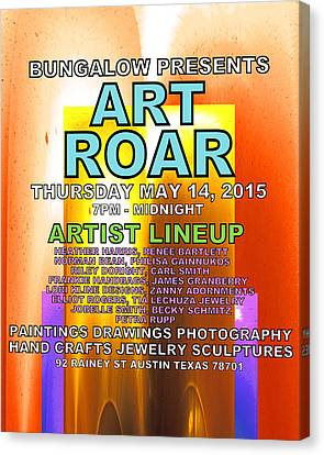 Art Roar May 2015 Canvas Print by James Granberry