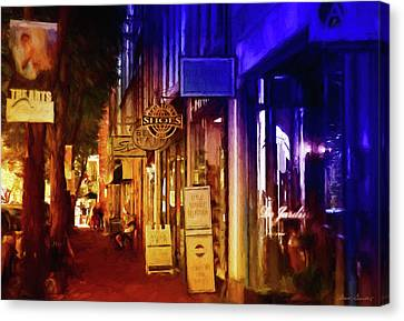 Art Row - Fredericksburg, Virginia Canvas Print