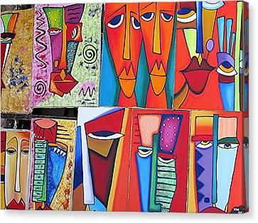 Arte De Cuba Canvas Print