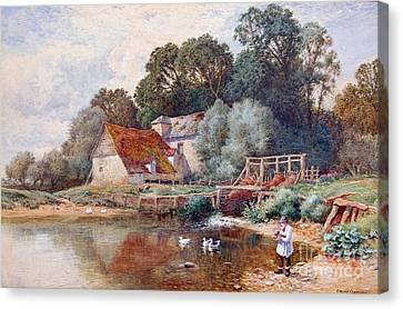 Arthur Claude Strachan Canvas Print