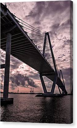Arthur Ravenel Jr. Bridge Canvas Print by Drew Castelhano