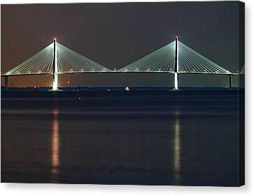 Arthur Ravenel Jr. Bridge II Canvas Print by Dustin K Ryan
