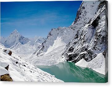 Artic Landscape Canvas Print