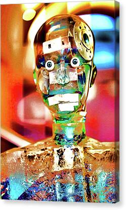 Artificial Mind Technology Intelligence Robot Canvas Print