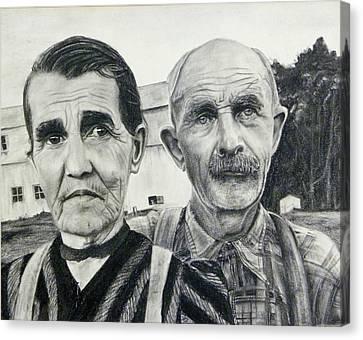 Artistic Deferance Canvas Print