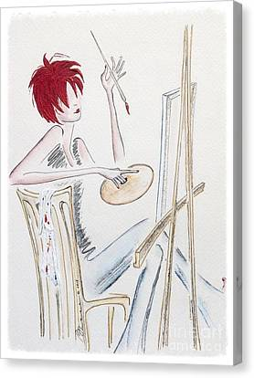 Artistic Endeavor Canvas Print by Barbara Chase