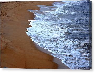 Artistic Impression Plum Island Canvas Print by AnnaJanessa PhotoArt
