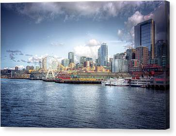 Artistic In Seattle Canvas Print by Spencer McDonald