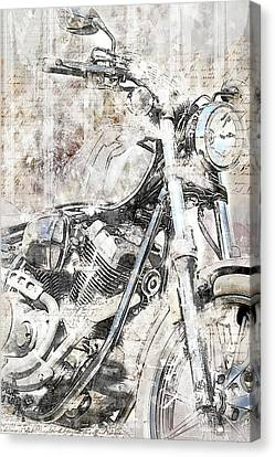 Artistic Ride Canvas Print