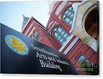 Arts And Industry Museum  Canvas Print