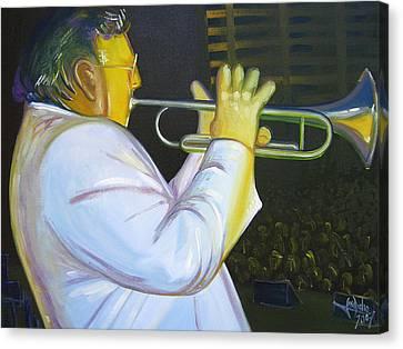 Arturo Canvas Print by Jose Julio Perez