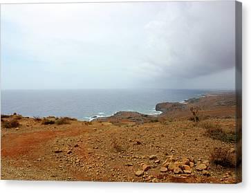 Aruba Rain Storm Canvas Print