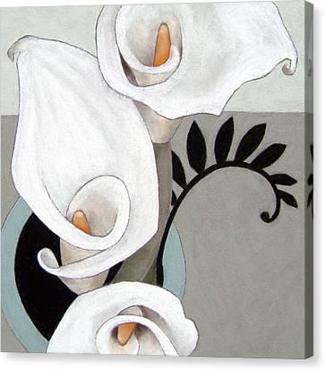 Arum, Three Canvas Print