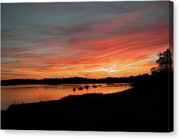 Arzal Sunset Canvas Print