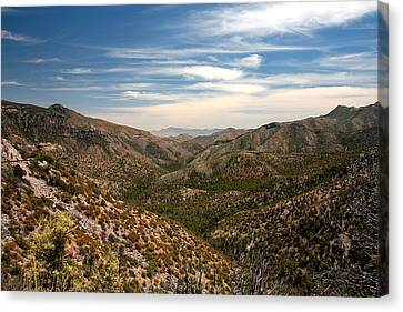 Canvas Print featuring the photograph As Far As The Eye Can See by Joe Kozlowski