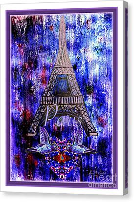 Terrorist Canvas Print - As Friends We Share The Same Emotions by Kimberlee Baxter