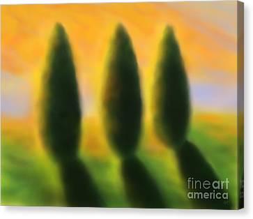 As In A Dream Canvas Print