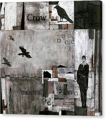 Canvas Print - As The Crow Flies  by Laura Lein-Svencner
