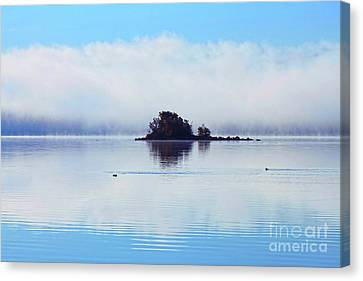As The Fog Clears Canvas Print