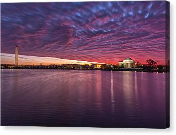 Canvas Print featuring the photograph Apocalyptical by Edward Kreis