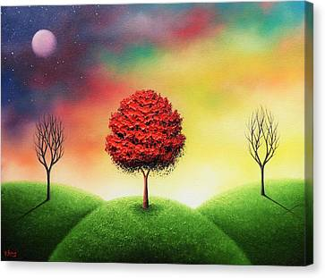 As We Are Not Canvas Print by Rachel Bingaman