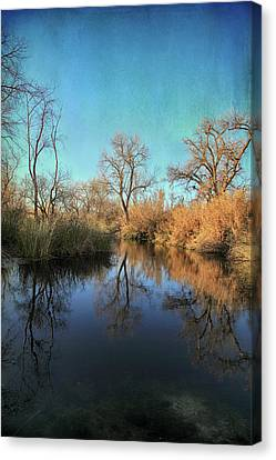 As We Taked About The Year Canvas Print