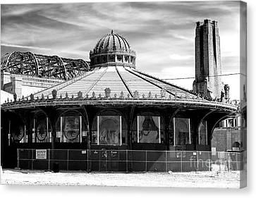 Canvas Print - Asbury Park Casino Carousel House 2007 by John Rizzuto