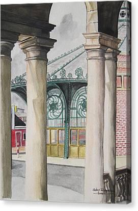 Asbury Park Canvas Print by Judy Riggenbach