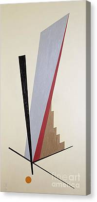 Lines Canvas Print - Ascending by Carolyn Hubbard-Ford