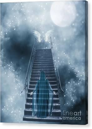 Kathy Rinker Canvas Print - Ascending by Kathleen Rinker