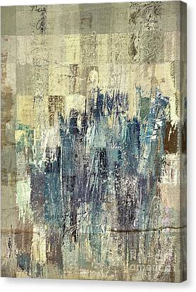 Canvas Print featuring the painting Ascension - C03xt-159at2b by Variance Collections
