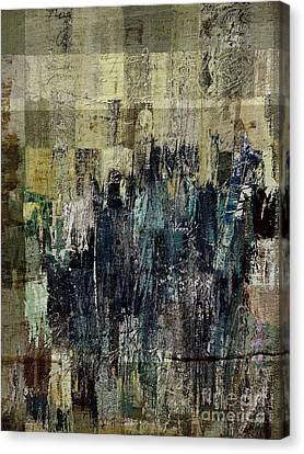 Canvas Print featuring the painting Ascension - C03xt-159at2c by Variance Collections
