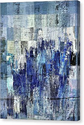 Canvas Print featuring the digital art Ascension - C03xt-160at2c by Variance Collections