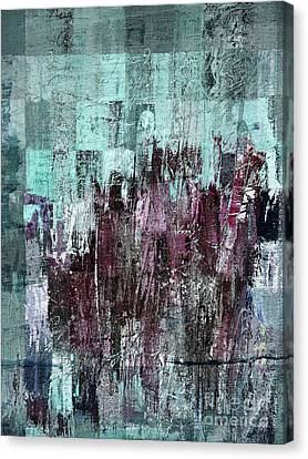 Canvas Print featuring the digital art Ascension - C03xt-161at2c by Variance Collections