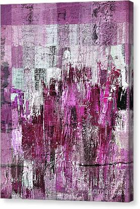 Canvas Print featuring the digital art Ascension - C03xt-165at2c by Variance Collections